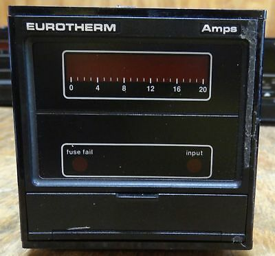 EUROTHERM POWER CONTROLLER 831/20a120v/00/-20ma-pa//