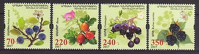 News Flora Of Artsakh 2017 Nagorno Karabakh Armenia Set Of 4 Stamps Mnh R17595