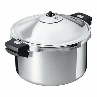 Kuhn Rikon 12qt Duromatic Stockpot Pressure Cooker, New
