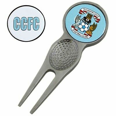 Coventry City Football Club Pitchmark Repair Tool & Ball Marker Free UK P&P
