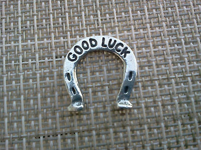 1 Your LUCKY HORSE SHOE GOOD LUCK POCKET COIN PIECE PEWTER All New