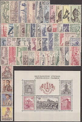 CZECHOSLOVAKIA - 1955-1959 COMPLETE COLLECTION with SHEETS !! - **MNH** CHEAP !!