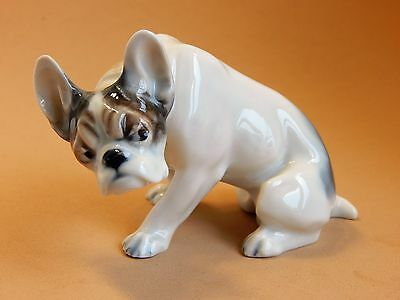 Rare 1950's Germany Rosenthal French Bulldog Figurine, H308, Dog