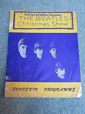 THE BEATLES Brian Epstein Presents CHRISTMAS SHOW Souvenir Programme!