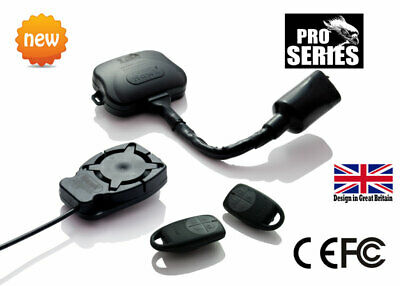 Motorcycle Motorbike Quality Alarms & Immobiliser No Wire Cutting Easy Fit