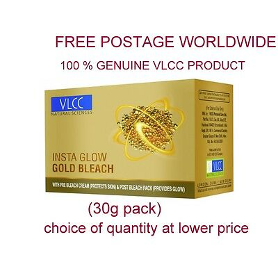 Insta Glow Vlcc Gold Bleach Lightening Fairness Mask Cream For Skin/face/body @