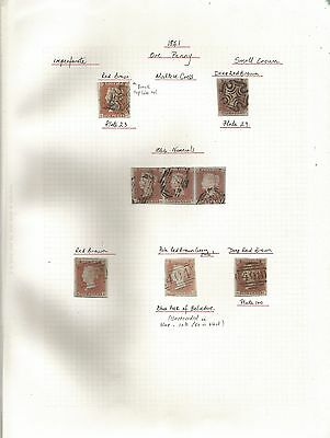 A Superb Line Engraved Collection Of 64 Stamps & 18 Covers See 11 Scans