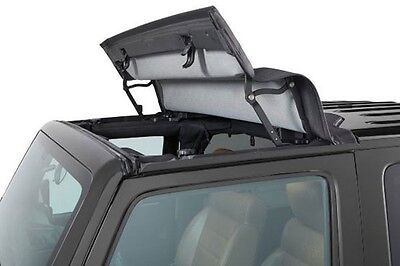 2007-2017 Jeep Wrangler Unlimited Bestop Sunrider® for Hard Top Twill 52450-17