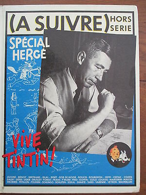 A Suivre Hors Serie Special Herge Vive Tintin 1983