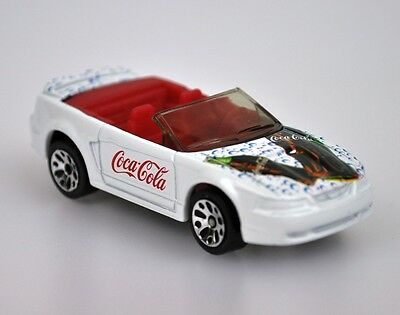 Coca-Cola Coke Modell-Auto Die-Cast Car Matchbox 2001 OVP Ford Mustang