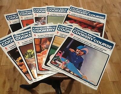Vintage Cordon Bleu Cookery Course Weekly Instalments Recipes 1-10 1960s 1970s