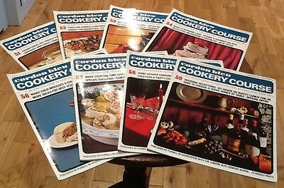 Vintage Cordon Bleu Cookery Course Weekly Instalments Recipes 51-59 1960s 1970s