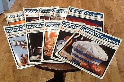 Vintage Cordon Bleu Cookery Course Weekly Instalments Recipes 31-40 1960s 1970s