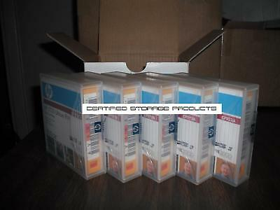 NEW 5/PK HP C7973A LTO Ultrium 3 Data Tape Cartridges w/Bar Scan Labels