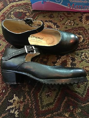 Mexican Folkloric Dance Shoes Girls Size 11
