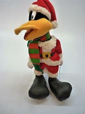 WB Looney Tunes DAFFY DUCK As Santa Claus Plush ACE w/tag 1998 (B465)