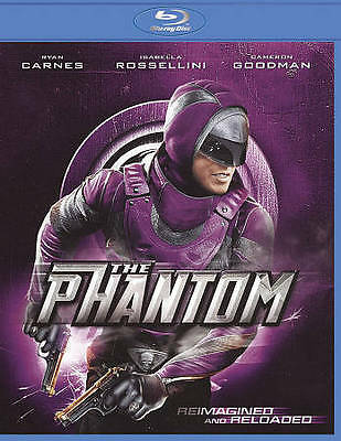 THE PHANTOM (Blu-ray Disc, 2010) New / Factory Sealed / Free Shipping