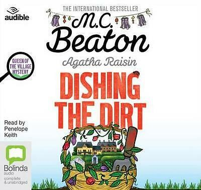 NEW Dishing The Dirt By Penelope Keith Audio CD Free Shipping
