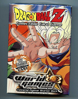Dragonball Z World Games Saga Limited Celestial Fighter Hero Deck New Z4