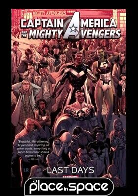 Captain America And Mighty Avengers Last Days Vol 02 - Softcover