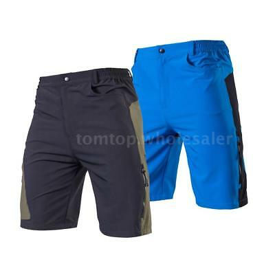TOMSHOO Men's Baggy Cycling Shorts Loose-Fit For Outdoor Sports MTB Cycling