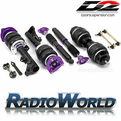 VW Transporter T5 T6 D2 Racing Air Suspension Front & Rear Kit Ride / Lift