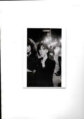 Patti Smith 1976 Unused Modern Postcard Mint
