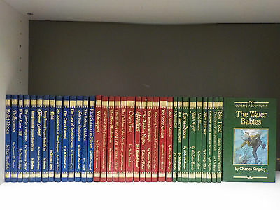 'Classic Adventures' (Children's Popular Novels) -36 Books Collection (ID:46424)