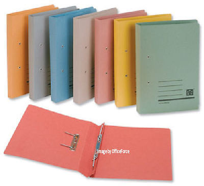 SPRING FILES x 50~Fits A4 & Foolscap~Colour Choice ©