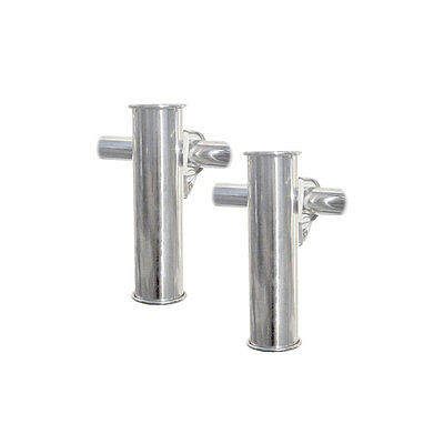 Porte-canne fixation sur balcon - lot de 2