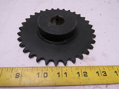 """G&G 00104032 Roller chain Sprocket 32 Tooth 7/8""""Keyed Bore"""
