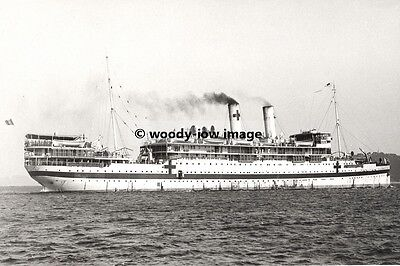 rp01471 - French Hospital Ship - Sphinx - photograph