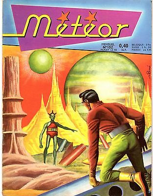 Meteor 102 Aredit 1961L'astre Des Naufrageurs Giordan  Passionnant