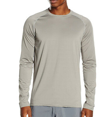 Sub Sports Heat Stay Cool Tech Mens Long Sleeve Top - Grey