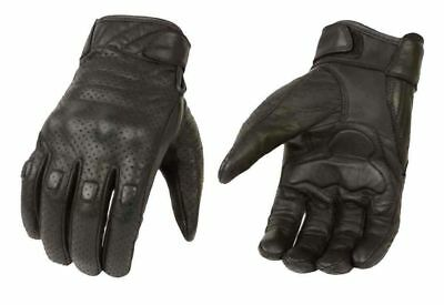 Winter Summer Leather Motorcycle Gloves Motorbike Tactical Mittens Knuckle Pads