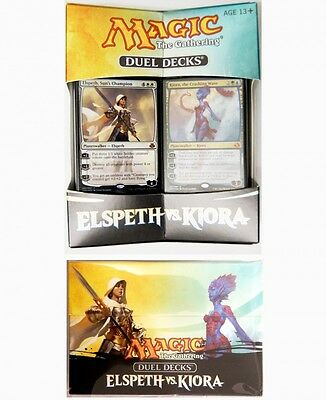 Duel Deck Combo : Elspeth vs. Kiora Duel Decks + Deckbox Magic the Gathering MTG