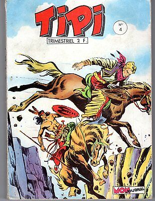 Tipi 4  Mon Journal 1968 Rare (Pecos Bill)