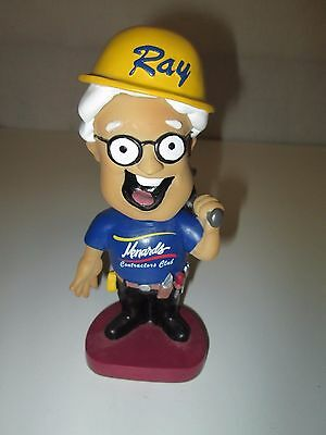 Ray From Menards Contractors Club Bobblehead Nodder Construction Tools Hardware