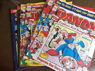 12 Copies Of The Dandy Comics  1999 (As New)