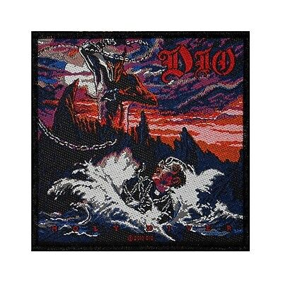 """""""Dio"""" Holy Diver Album Cover Art Heavy Metal Band Music Sew On Applique Patch"""