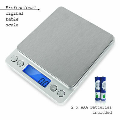 2000g/0.1g LCD Smart Digital Electronic Kitchen Food Diet Postal Scale Weight Ba