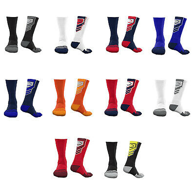 EvoShield Performance Crew Socks (6 pairs each) - Choice of Color, Style & Size!