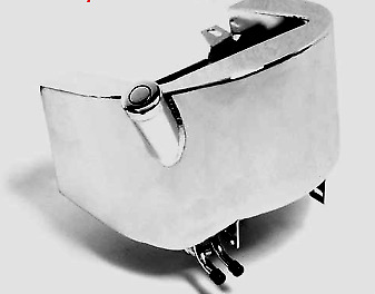 Kraft Tech Chrome Oil Tank For Stock 1986-1999 Softail And Rigid Frames Harley