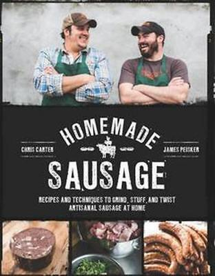NEW Homemade Sausage By James Peisker Paperback Free Shipping