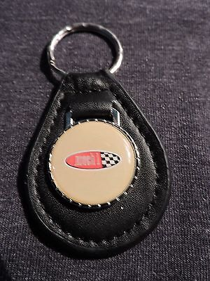 1969 1970 1971 1972 1973 2003 2004 FORD MUSTANG MACH 1 OVAL LOGO KEYCHAIN YELLOW