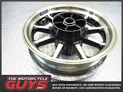 2007 Yamaha Xv1700 A Road Star Rear Back Rim Wheel Oem Stock Good Straight Video