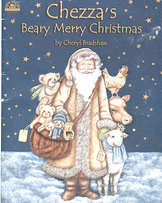 PAINTING BOOK- CHEZZA'S BEARY MERRY CHRISTMAS by CHERYL BRADSHAW