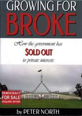 NEW Growing For Broke By Peter North Paperback Free Shipping