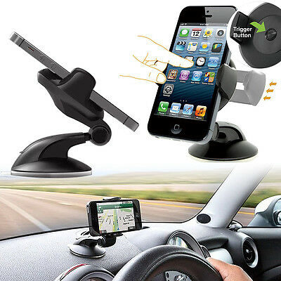 Chic Phone Holder In Dashboard Windshield For Mobile Cell Phone GPS Car Mount