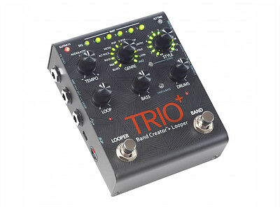 DigiTech Trio+ Band Creator Guitar Effects Pedal (NEW)